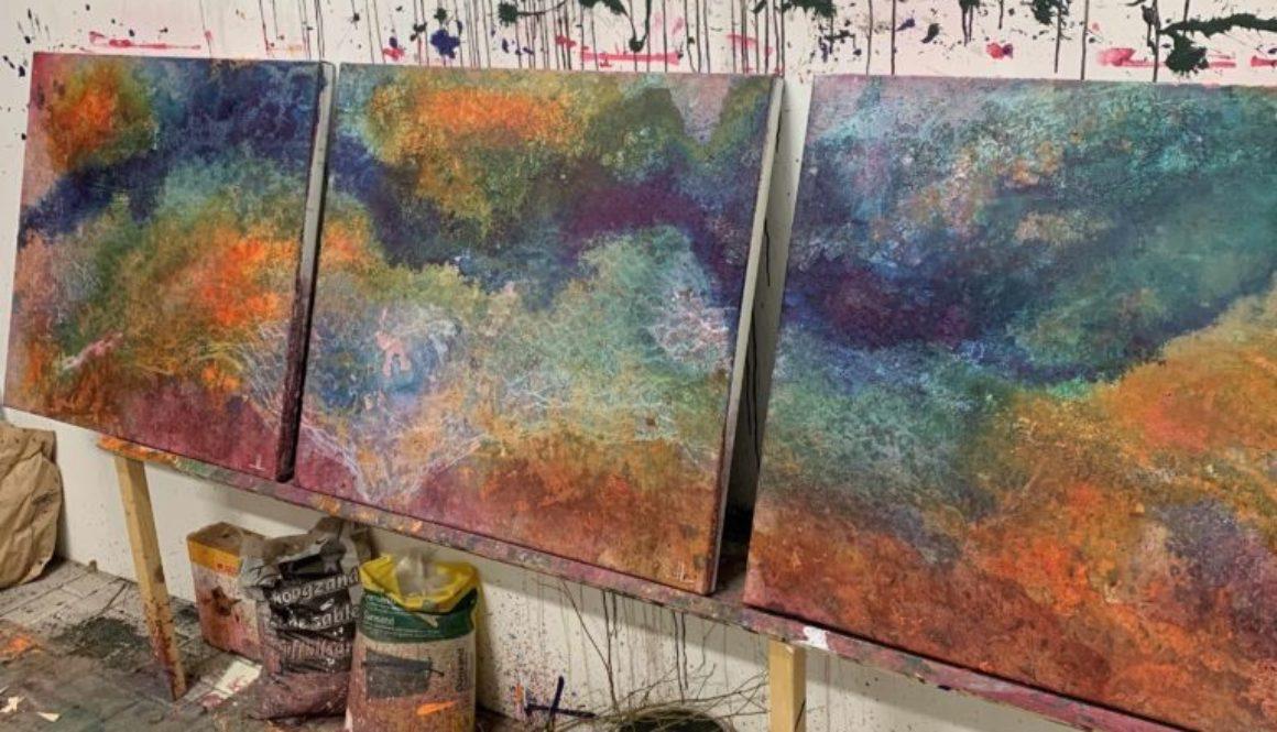 Jasmin Leer Abstract art
